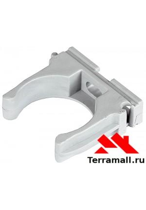 Крепёж клипса для трубы 32 мм