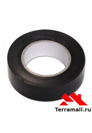 Изолента ПВХ, 19 мм х 25 м, черная