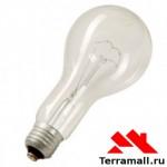 Лампа накаливания Е40 300 вт прозрачная