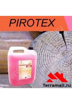 Огнебиозащита Пиротекс Норма 10 красный цвет