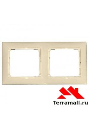 Рамка Легранд 2-я, белая