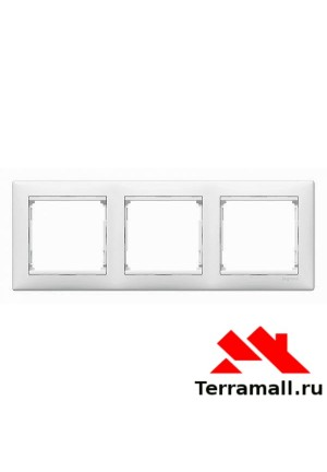 Рамка Valena 3-я Белая 774453