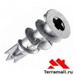Анкер DRV 14х38мм металл для гипсокартона с шурупом (100шт)