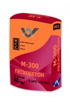 Пескобетон КСС М-300 40 кг