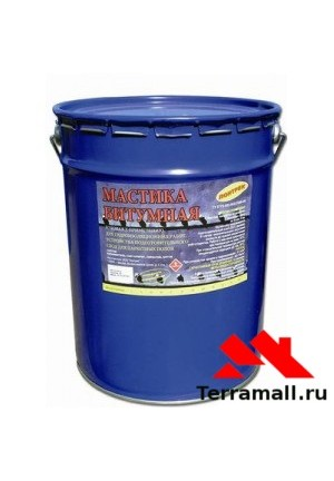 ЛОНТРЕК Мастика битумная гидроизоляционная (20л)