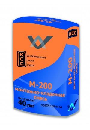 Сухая универсальная смесь М-200, 40 кг КСС
