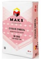 Пескобетон Dauer Макс М-300, 40 кг