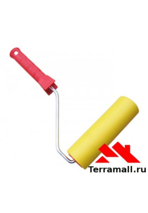 Валик прижимной резиновый для обоев 150 мм Россия
