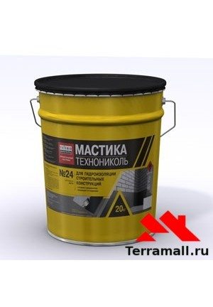 ТЕХНОНИКОЛЬ Мастика МГТН битумная (20кг)