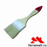 """Кисть флейцевая 1,5"""" (38мм) натуральная щетина, деревянная ручка """"Sparta"""""""