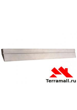Правило Сибртех алюминиевое Трапеция, 1 ребро жесткости, L-1,0 м