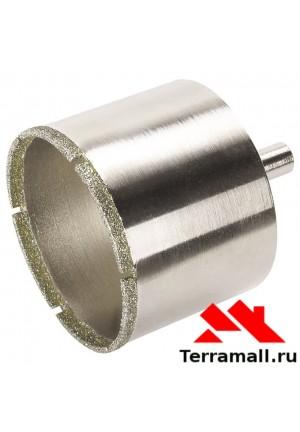 Коронка алмазная по стеклу, керамике от 65 до 120 мм
