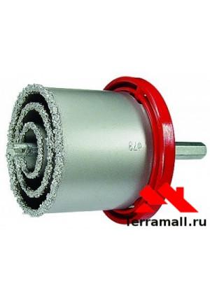 Набор коронок Матрикс по керамической плитке, 33-53-67-73 мм, 6-гранный хвостовик