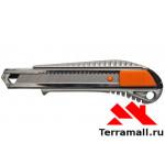 Нож Матрикс с выдвижным лезвием 18 мм 5 лезвий