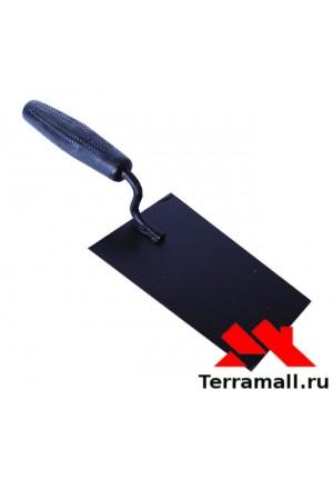 Кельма отделочника стальная Сибртех, пластик. ручка