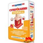 ПЛИТОНИТ СуперКамин ТермоКлей для облицовки (25кг)