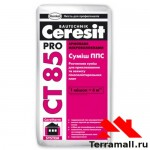 Ceresit CT-85 штукатурно-клеевая смесь для пенополистирола (25кг)