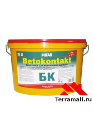 Бетоноконтакт Пуфас для внутренних работ 15 кг,
