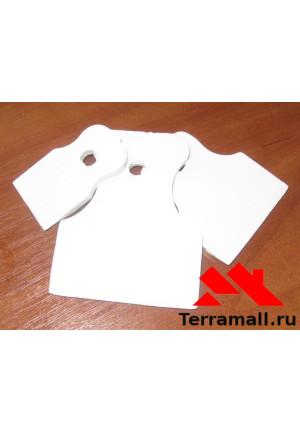 Набор шпателей резиновых Россия (белых)