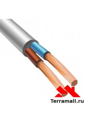 Провод ПВС-2х1.5 метр погонный, кабель ПВС сечением 2х1.5 мм. кв.