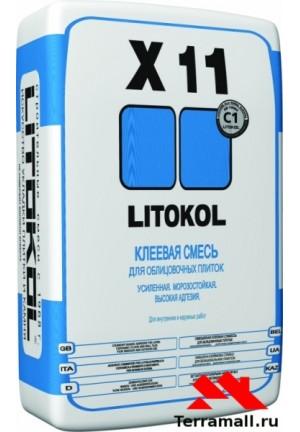 Литокол  X11 клей плиточный усиленный 25 кг