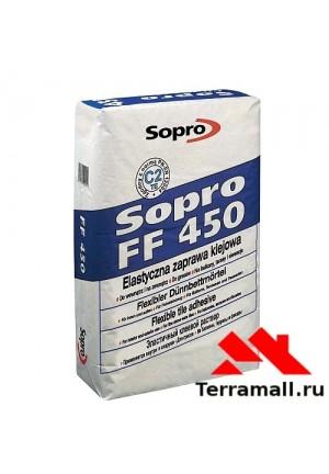 SOPRO FF 450 Усиленная клеевая смесь, 25 кг