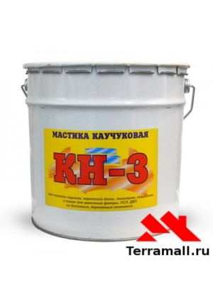 Мастика каучуковая КН-3, ведро 22кг