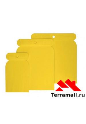 Набор шпателей пластмассовых (50-80-100мм)