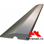 Правило алюминиевое Трапеция Сибртех, 1 ребро жесткости, L-1,5 м