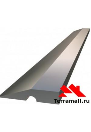 Правило алюминиевое Сибртех Трапеция, 1 ребро жесткости, L-2,5 м