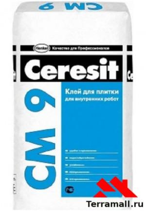Ceresit СМ-9 клей плиточный 25 кг