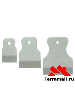 Шпатель белая резина Россия (5шт/уп)