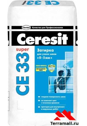 Затирка церезит белая CE33 № 01 Ceresit