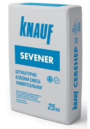 Кнауф Севенер штукатурно-клеевая смесь  25 кг knauf Sevener