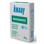 КНАУФ-Зокельпутц штукатурка цементная цокольная 25 кг