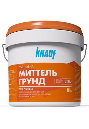 Грунтовка КНАУФ-Миттельгрунд 10 л