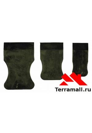 Набор шпателей резиновых Россия (черных)