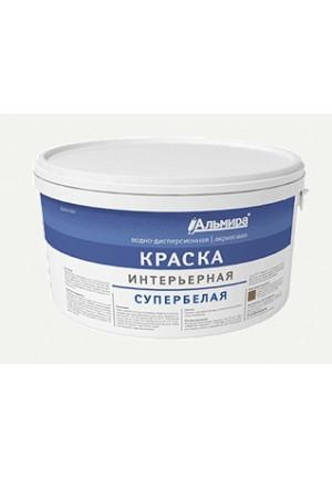 Краска ВД-АК супербелая интерьерная 14 кг