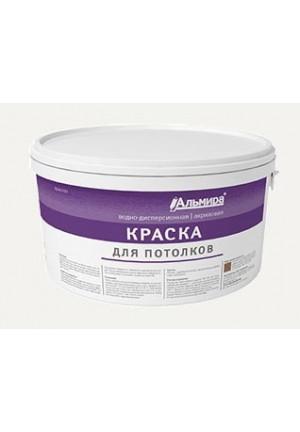 Краска ВД-КЧ для потолков 14 кг