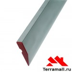 Правило алюминиевое Трапеция Сибртех, 1 ребро жесткости, L-3,0 м