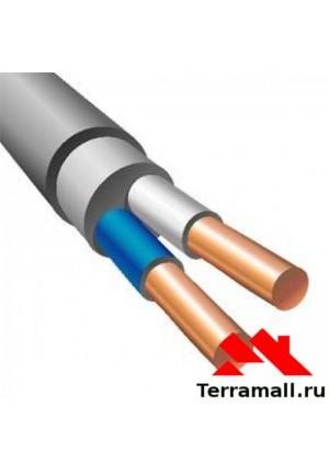 Кабель NYM 2х1.5 погонный метр, провод НУМ сечением 2х1.5 мм. кв.