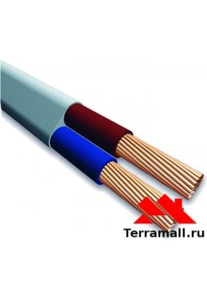 Провод ПУГВВ 2х4 метр погонный, кабель ПУГВВ сечение 2х4 мм. кв.