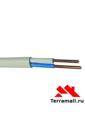 Провод ПУНП 2х4 метр погонный, кабель ПВВП сечения 2х4 мм. кв.