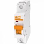 Автоматический выключатель ВА47-29  1Р 6А, 10А,16А, 20А, 25А, 32А, 40А, 50А, 63А 4,5кА TDM