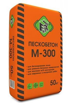 """Сухая смесь М-300 """"Fix""""40 кг - пескобетон"""