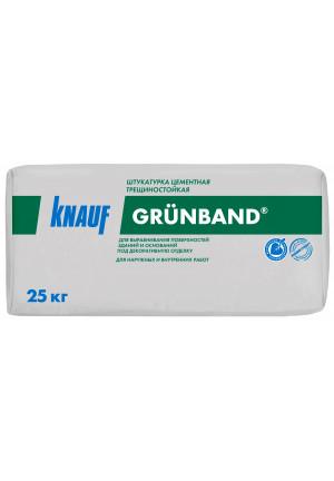 КНАУФ-Грюнбанд штукатурка цементная теплоизоляционная фасадная 25 кг