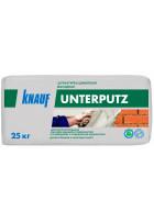КНАУФ-Унтерпутц штукатурка цементная фасадная 25 кг