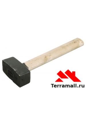 Кувалда 7 кг, литая головка, деревянная ручка 10978