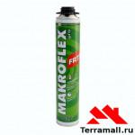 МАКРОФЛЕКС ПРО ФР 77 пожаростойкая пена монтажная (0,75л)
