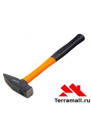 Молоток слесарный Спарта 600 г, фибергласовая ручка обрезиненная
